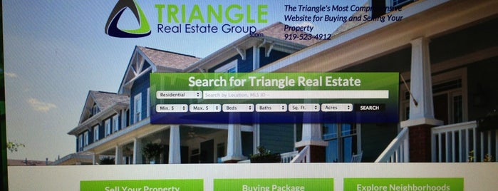 Triangle Real Estate Group is one of Triangle Real Estateさんのお気に入りスポット.