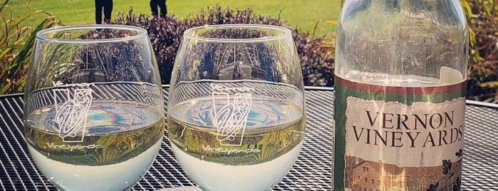 Vernon Vineyards Winery & Tasting Room is one of Wisconsin Wineries.