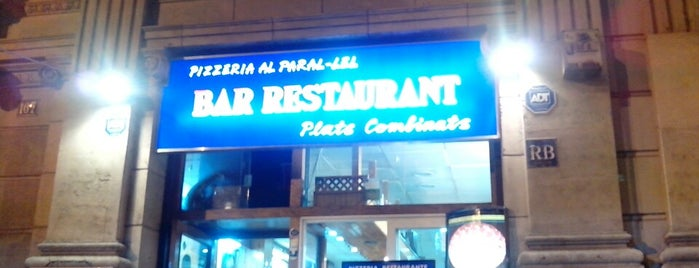 Pizzeria Paral.lel is one of A comer y a beber (2).