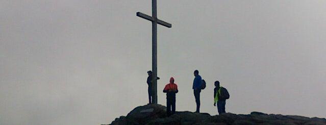 Großer Arber - Gipfelkreuz is one of Lugares favoritos de Matthias.