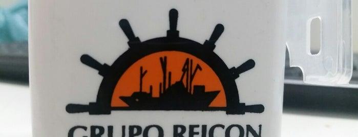 REICON - Rebelo Indústria, Comércio e Navegação Ltda. is one of Locais curtidos por Roza.