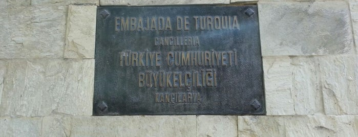 Embajada de Turquía en Caracas is one of Venezuela.