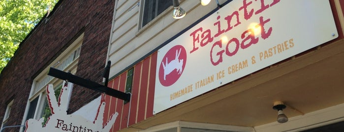 Fainting Goat Gelato is one of Lugares favoritos de mark.