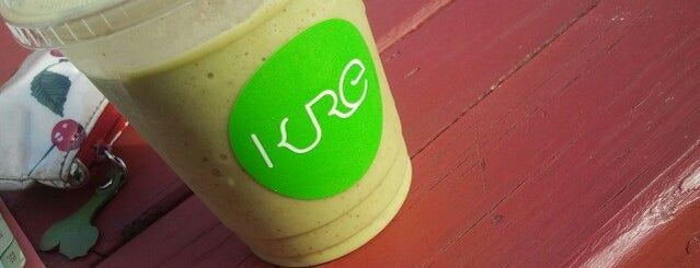 KURE Juice Bar is one of 50 Cult-Favorite Juice Bars.