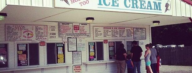 Hodgies Ice Cream Too is one of Orte, die Shelley gefallen.