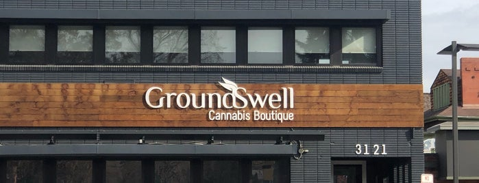 GroundSwell Cannabis Boutique is one of Denver.