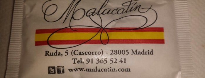 Malacatín is one of Comer en Madrid.