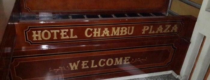 Hotel Chambu is one of Tempat yang Disukai Xavi.
