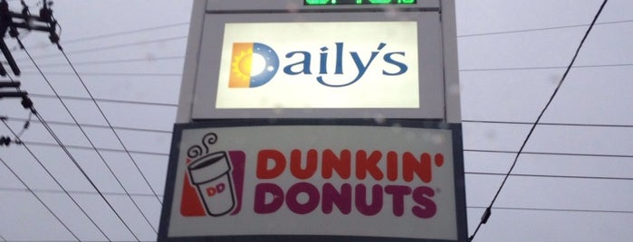 Dunkin' is one of Hayley's Liked Places.