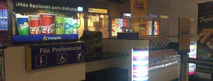 Cinépolis VIP is one of Orte, die Krystel gefallen.