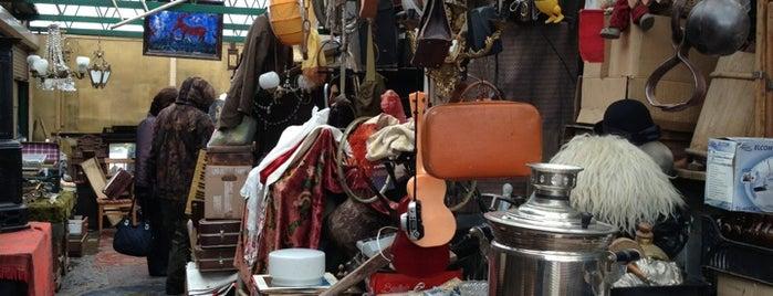 Блошиный рынок (Ярмарка «Левша») is one of Lugares guardados de Galina.