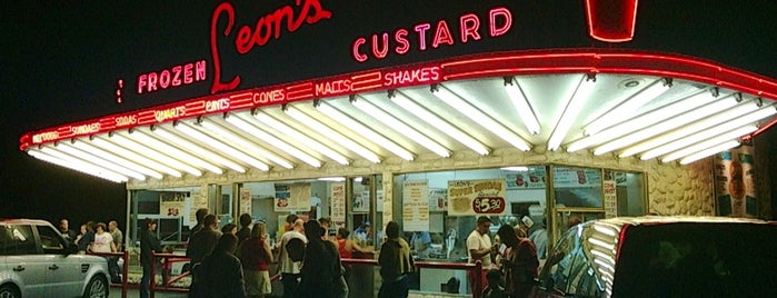 Leon's Frozen Custard is one of milwaukee.