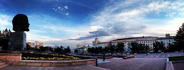 Площадь Советов is one of Улан-Удэ.