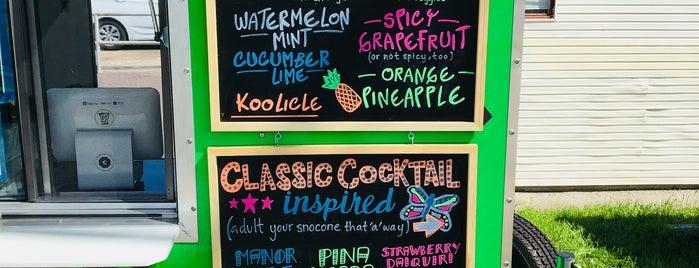 Sno.Co Flattop Shaved Ice is one of ice cream/snow cones.