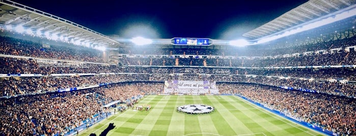 Estadio Santiago Bernabéu is one of Tempat yang Disukai Jorge.