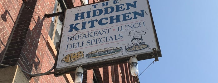 Hidden Kitchen is one of Diner Crawl.