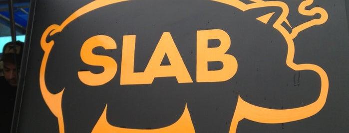 Slab BBQ is one of Orte, die Rise gefallen.