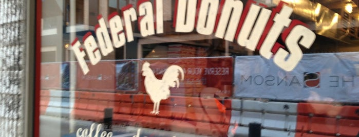 Federal Donuts is one of Philly ideas.