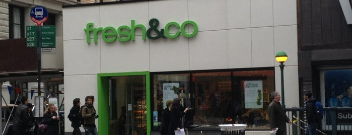 Fresh & Co. is one of Vegan in NYC.