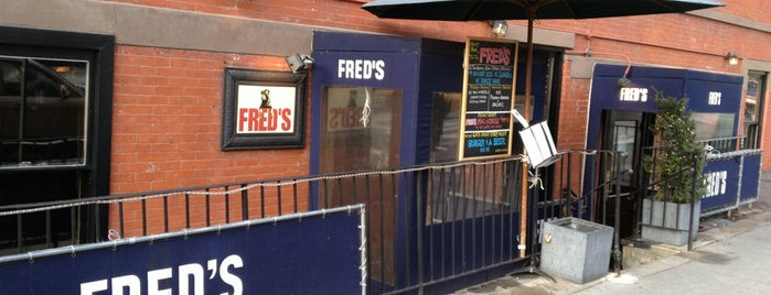 Fred's Restaurant is one of The New Yorkers: Supper Club.