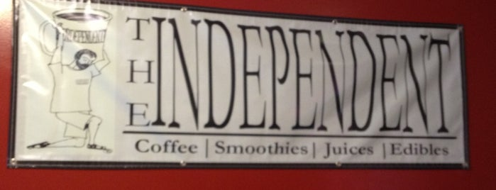 The Independent Café is one of New England Vacation.