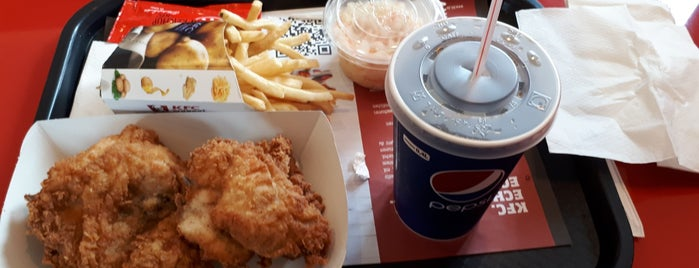 Kentucky Fried Chicken is one of Tempat yang Disimpan N..