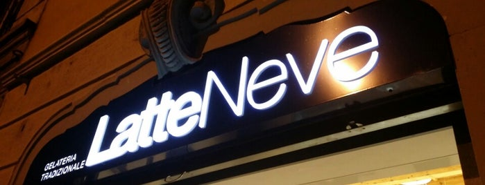 LatteNeve is one of Gelaterie vegan-friendly a Milano e dintorni.