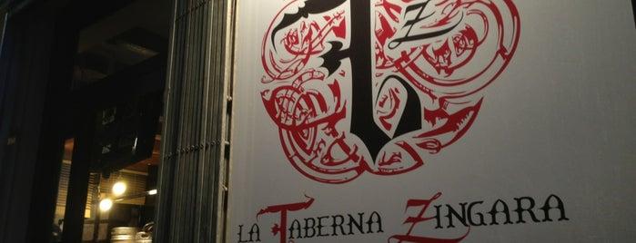 La Taberna de la Zíngara is one of Para repetir.