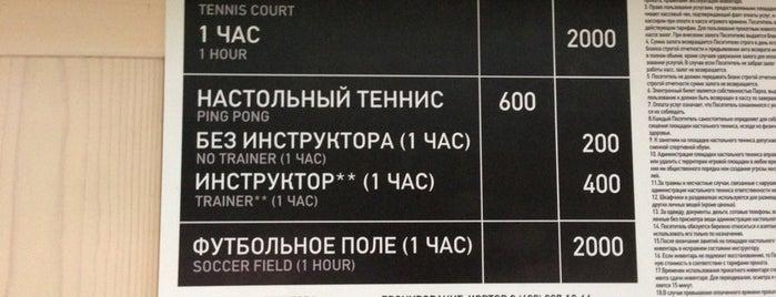 Настольный теннис в Нескучном саду is one of Gespeicherte Orte von Hardy.