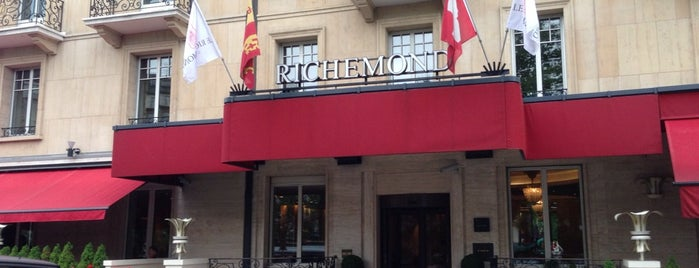 Hôtel Le Richemond is one of Geneva.