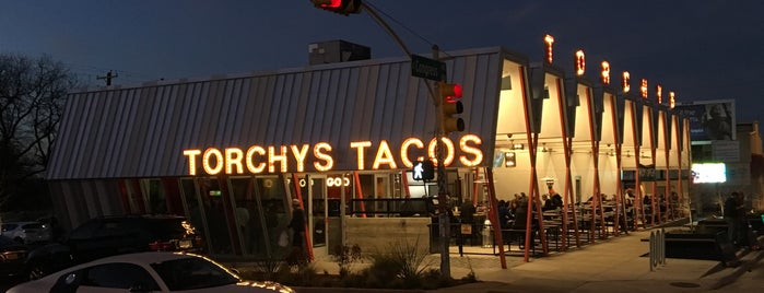 Torchy's Tacos is one of Austin TX.
