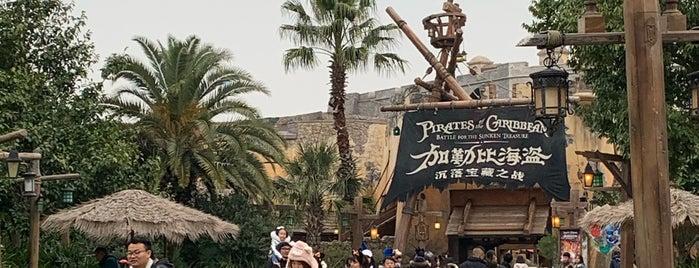 Pirates of the Caribbean Battle for the Sunken Treasure is one of Orte, die Bob gefallen.