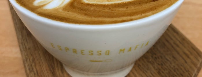 Espresso Mafia is one of Catalunya.