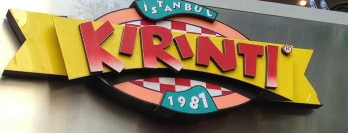 Kırıntı is one of Restaurants, Cafes, Lounges and Bistros.