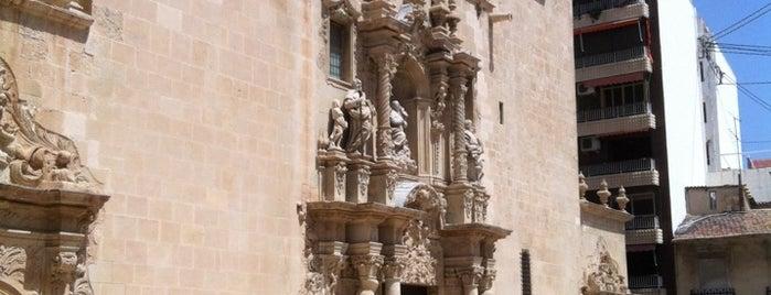 Basilica Santa Maria Alicante is one of Tempat yang Disukai Emmanuelle.