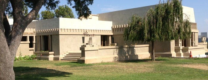 Hollyhock House is one of Los Angeles.
