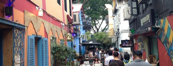 68 Haji Lane is one of Singa.
