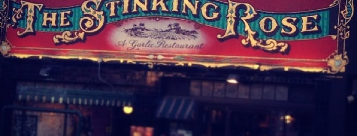 The Stinking Rose is one of Great City By The Bay - San Francisco, CA #visitUS.
