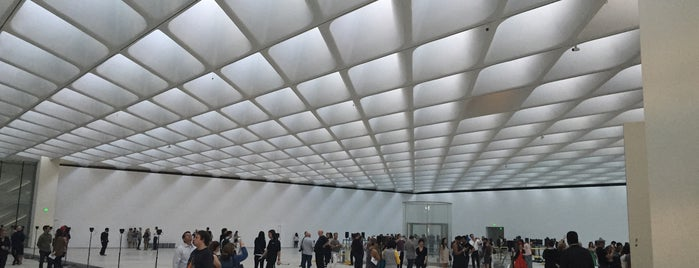 The Broad is one of Los Angeles.