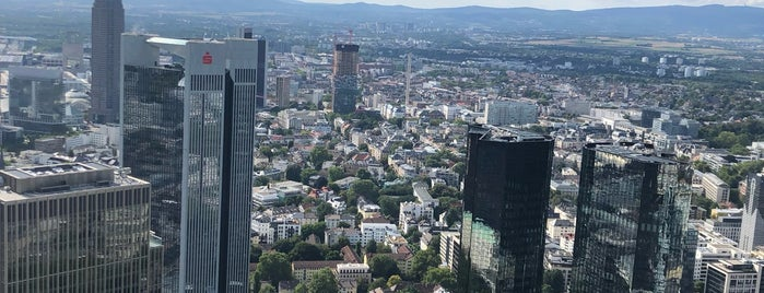 Main Tower is one of Frankfurt 101.