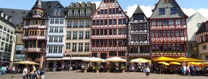 Römerberg is one of Germany.