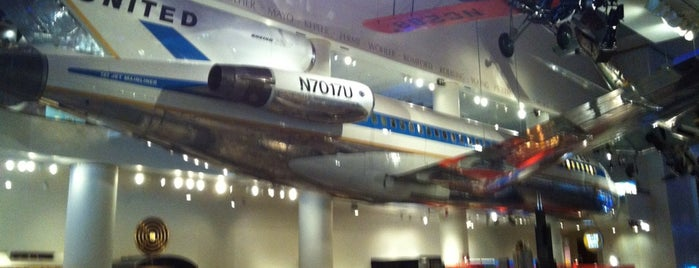 Museum of Science and Industry is one of Aviation.