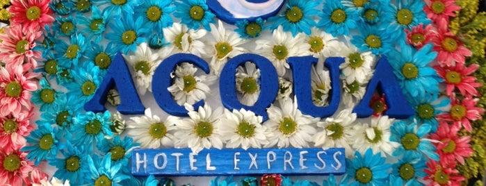 Hotel Acqua Express is one of Lieux qui ont plu à Tete.