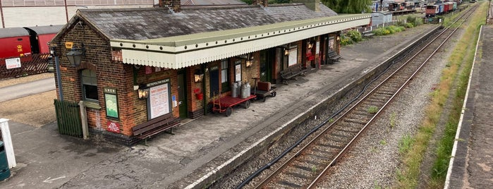 Buckinghamshire Railway Centre is one of Filming locations.