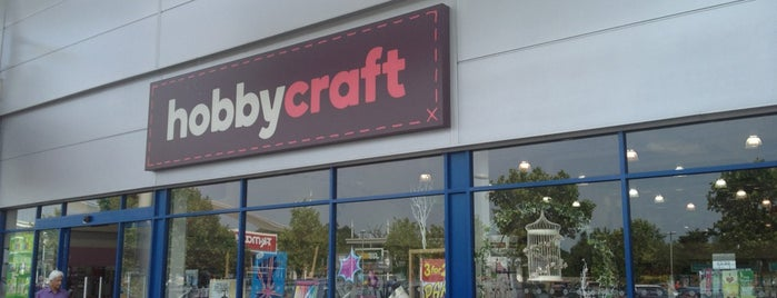 Hobbycraft is one of Aishaさんのお気に入りスポット.