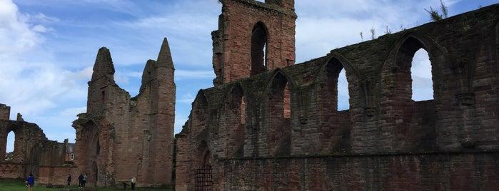 Arbroath Abbey is one of Scotland.