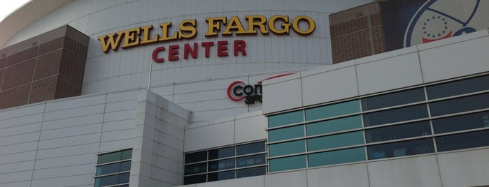 Wells Fargo Center is one of Sixers.