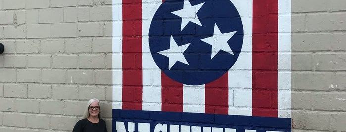 I Believe in Nashville Mural is one of Nashville - Christy.