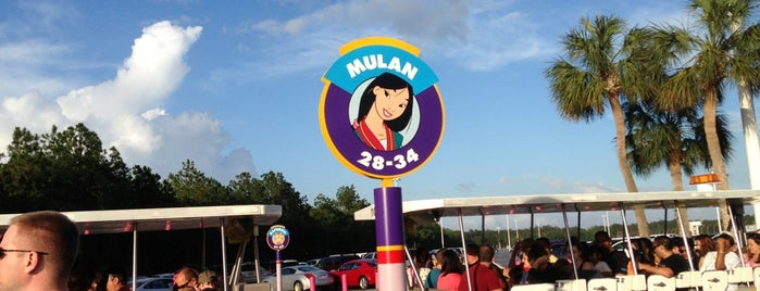 Mulan Parking Lot is one of Transportation & Misc Disney World Venues.