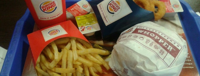 Burger King is one of Locais curtidos por .......